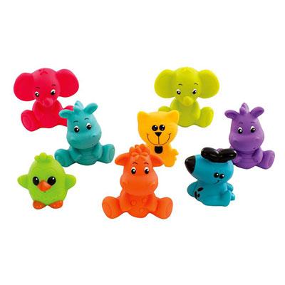 Jouets de bain gicleurs animaux rigolos Playgro