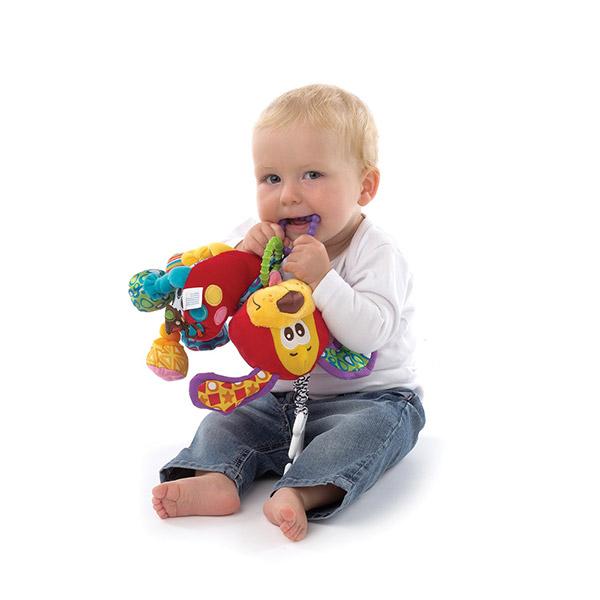 Peluche bébé chien Playgro