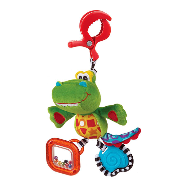 Jouet nomade le croco snappy Playgro