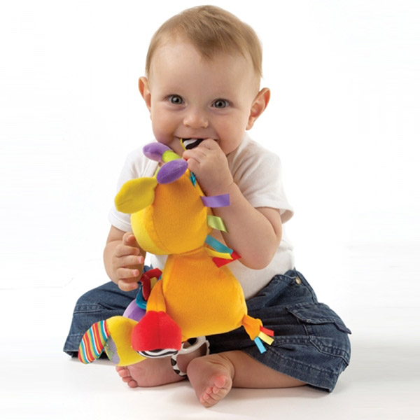 Peluche bébé mon amie la girafe Playgro