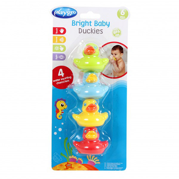 Jouets de bain gicleurs petits canards Playgro