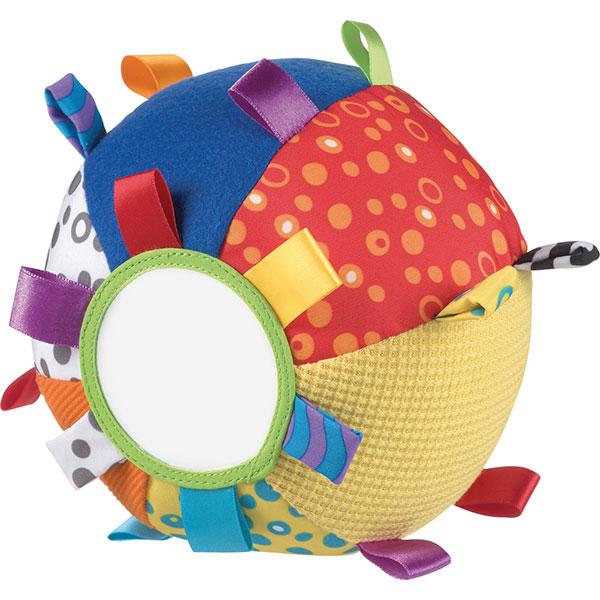 Jouet d'éveil bébé balle colorée Playgro