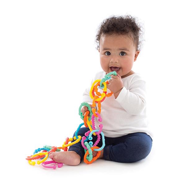 Les liens loops 24 pièces colorés Playgro
