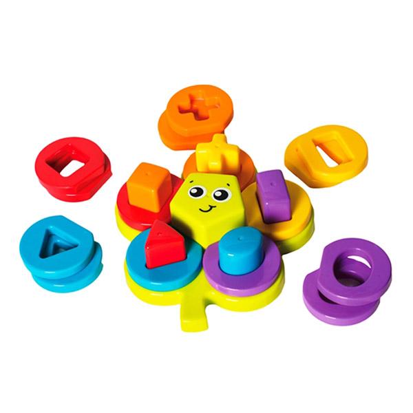 Jouet d'éveil ma fleur puzzle Playgro