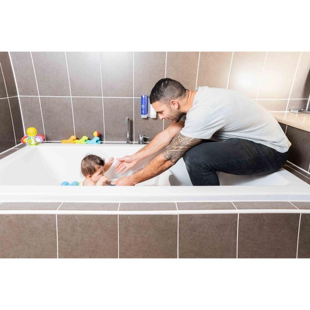 r 233 ducteur de baignoire b 233 b 233 blanc gris de babydam sur allob 233 b 233