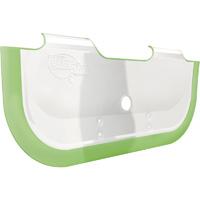 Reducteur de baignoire bébé vert