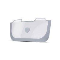 Réducteur de baignoire bébé blanc / gris