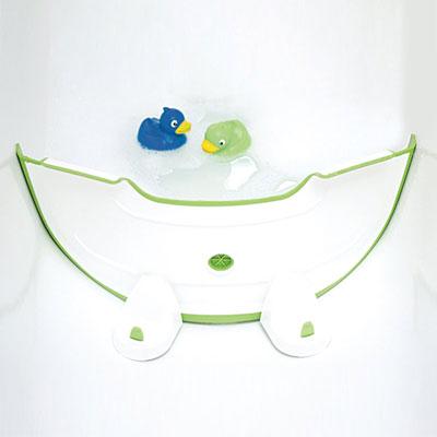 Reducteur de baignoire bébé vert Babydam