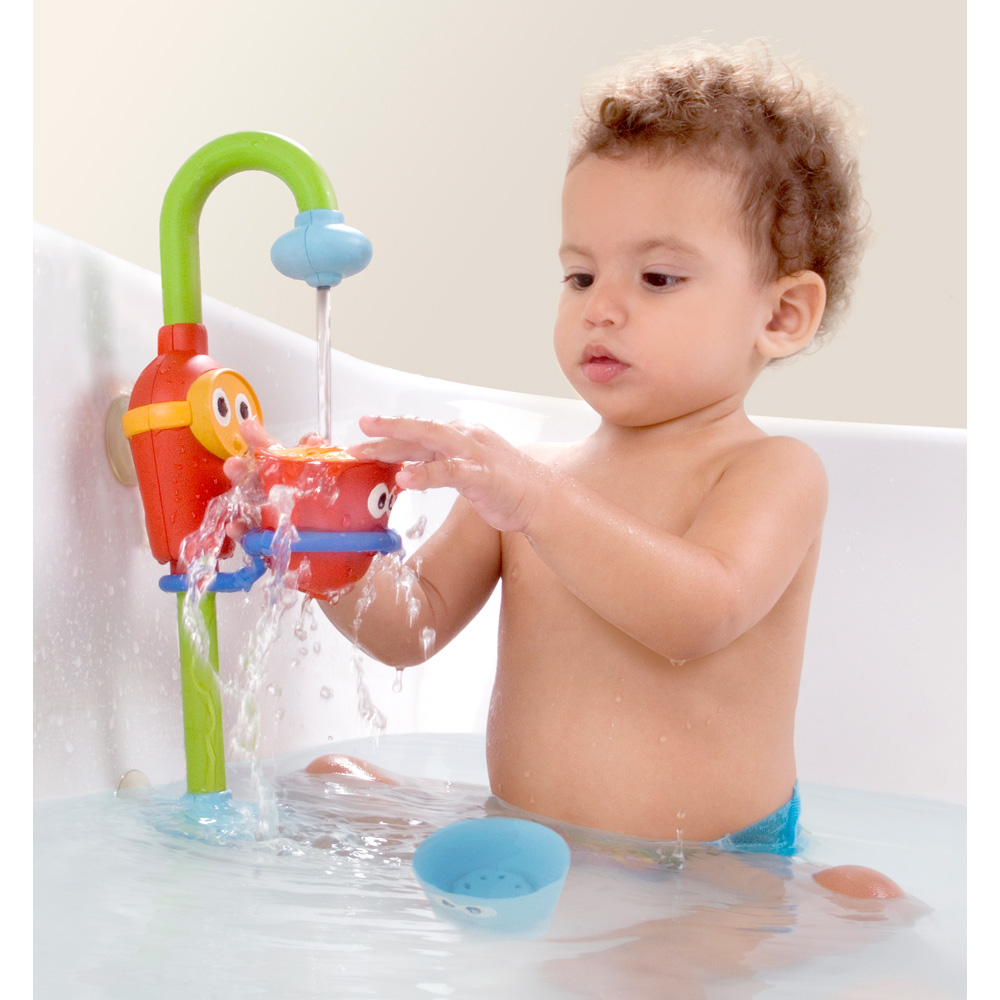 jouets de bain b b la douche en d lire de yookidoo sur allob b. Black Bedroom Furniture Sets. Home Design Ideas