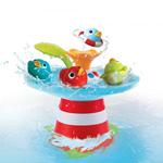 Jouets de bain bébé la course aux canards