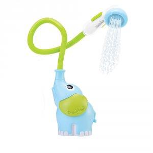 Jouet de bain douchette elephant bleu
