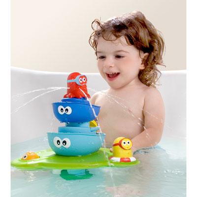 Jouets de bain bébé la fontaine magique Yookidoo