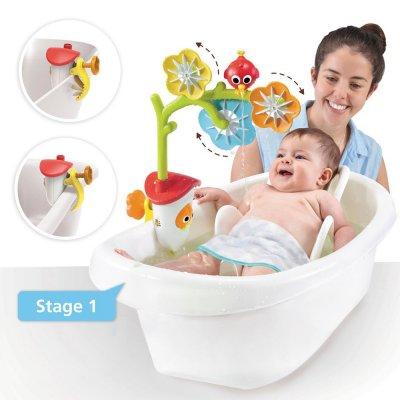 Jouet de bain bébé mobile de bain avec oiseau Yookidoo