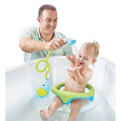 Jouet de bain douchette elephant bleu Yookidoo