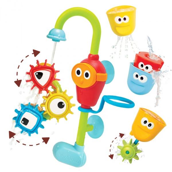 Jouet de bain bébé la douche multi-activités