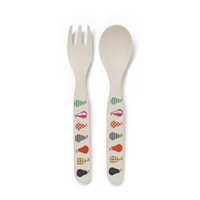 Set couverts bambou pear salad