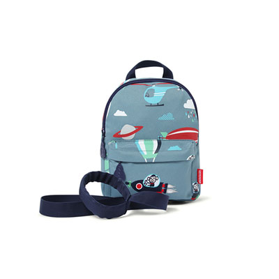 Mini sac à dos avec rènes space monkey Penny scallan