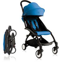 Poussette 4 roues yoyo+ by babyzen 6 mois + noire/bleue