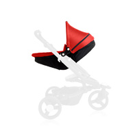 Nacelle bébé babyzen zen black frame/rouge