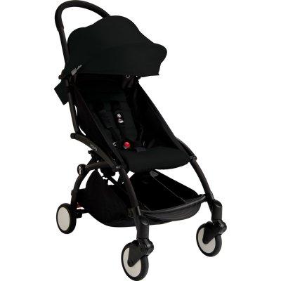 Poussette 4 roues yoyo+ by babyzen 6 mois + noire/noire Babyzen