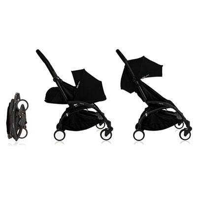 Poussette 4 roues yoyo+ by babyzen complète noire/noire Babyzen