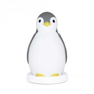 Veilleuse bébé pam le pingouin gris