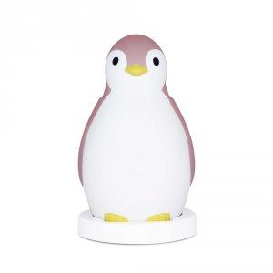Veilleuse bébé pam le pingouin rose