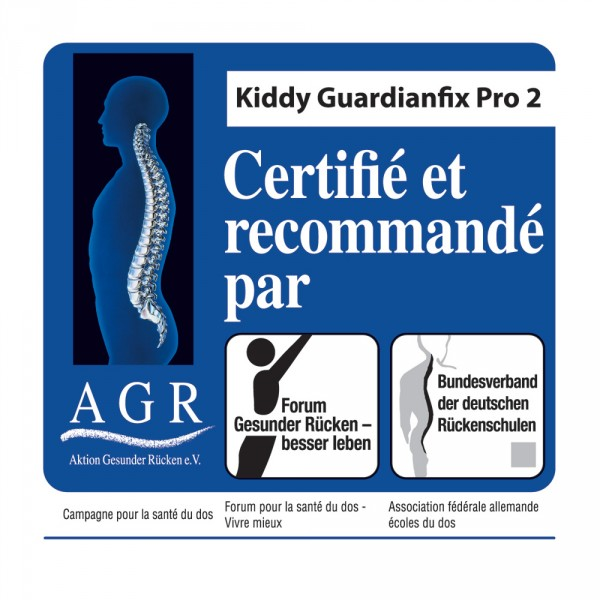 Siège auto guardianfix pro 2 manhattan - groupe 1/2/3 Kiddy