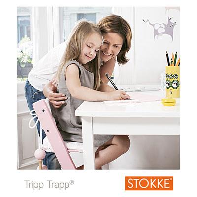 Chaise haute bébé évolutive tripp trapp noire Stokke