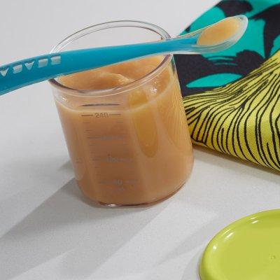 Pot de conservation maxi portion 240 ml tritan grey Beaba