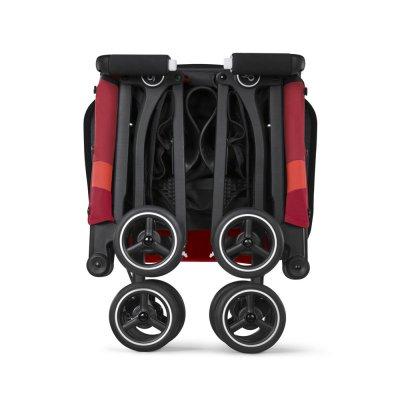 Poussette 4 roues pockit + tout terrain velvet black/black Gb