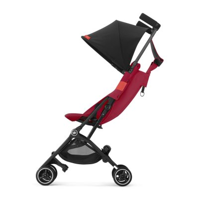 Poussette 4 roues pockit + tout terrain rose red/red Gb