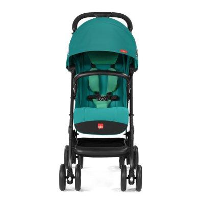 Poussette 4 roues qbit + tout terrain laguna blue/turquoise Gb