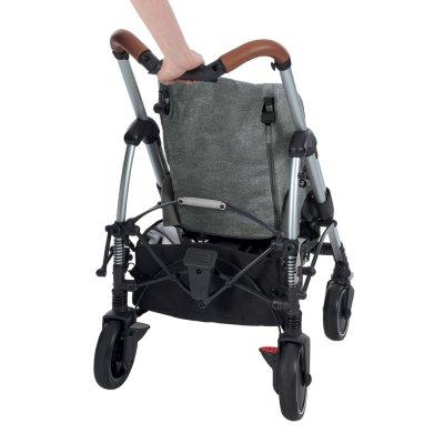 Poussette 4 roues mya nomad black Bebe confort