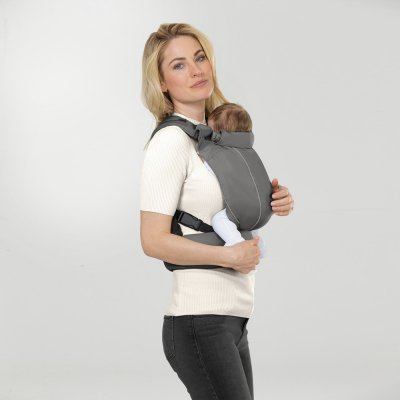 Porte bébé maira click lavastone black Cybex