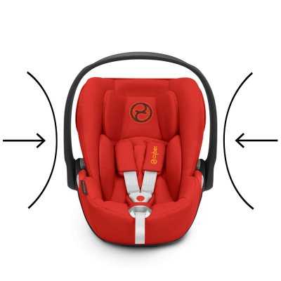 Siège auto cloud z i-size autumn gold/burnt red - groupe 0+ Cybex