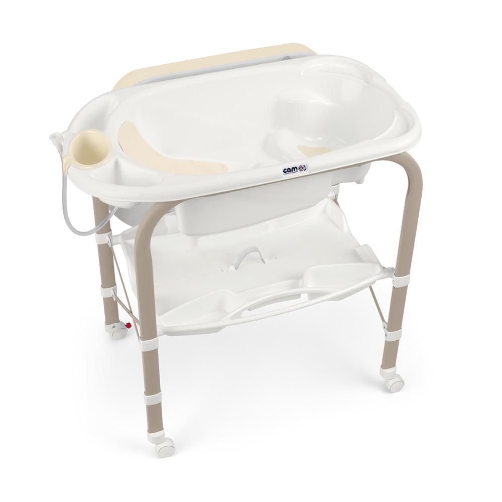 Table langer avec baignoire cambio lapin de cam sur allob b - Table a langer en bois avec baignoire ...