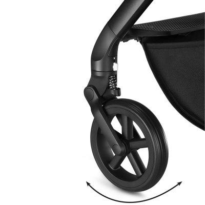 Poussette 4 roues balios s denim collection manhattan grey Cybex