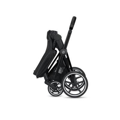 Poussette 4 roues priam matt black manhattan grey Cybex