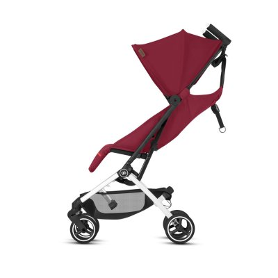 Poussette 4 roues pockit + city fashion edition rose red/red Gb