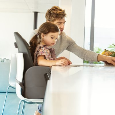 Chaise haute bébé minla essential graphite Bebe confort