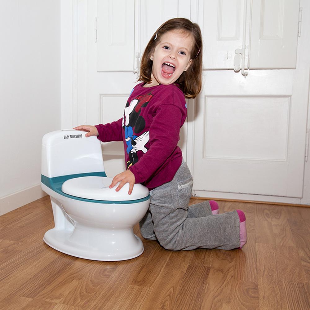 pot d 39 apprentissage mon premier toilette rhino bleu de. Black Bedroom Furniture Sets. Home Design Ideas