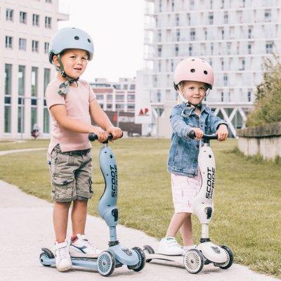 Casque de protection pour porteur highwaykick 1 kiwi ( taille xxs-s) Scoot and ride