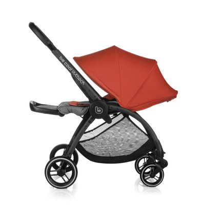 Pack poussette trio outback avec nacelle crib et coque one be solid black Be cool